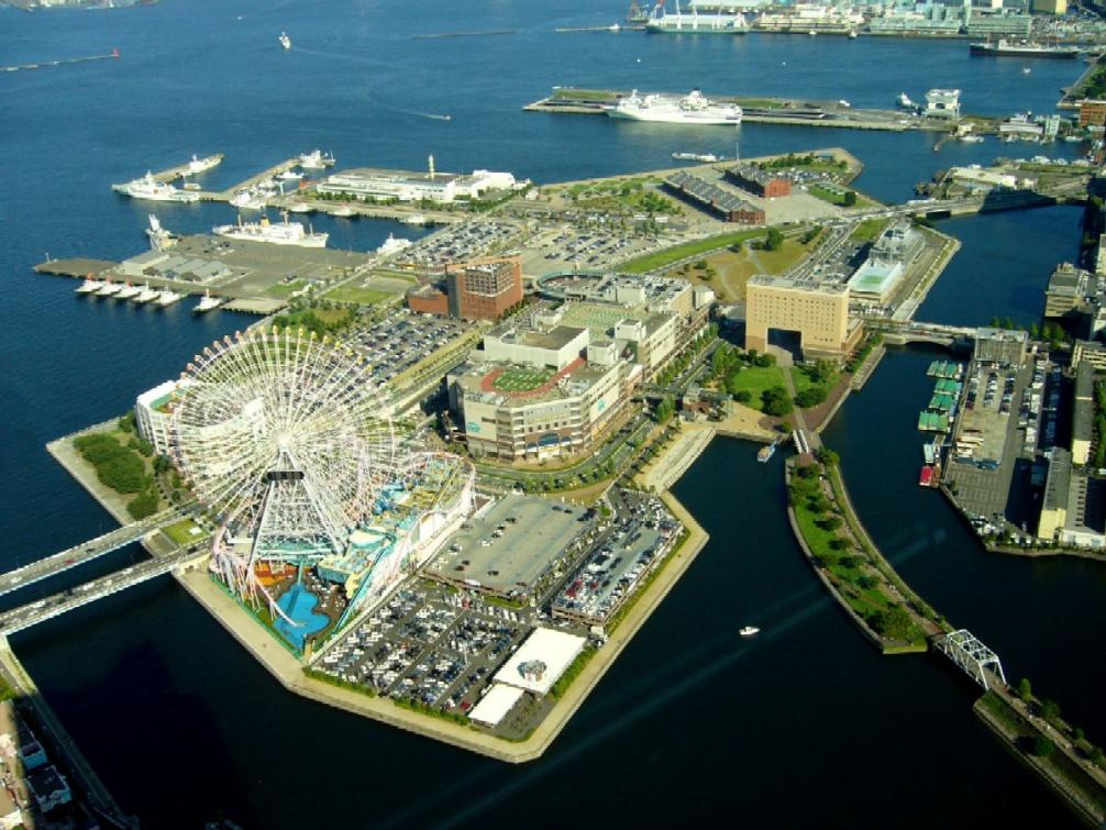 Yokohama terre plein clio photo - Baie du japon en 3 lettres ...