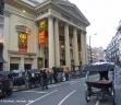 Pousse-pousse et rickshaws à Londres.