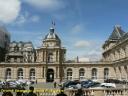 La cour d'honneur du palais du Luxembourg