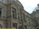 Détail de la façade du Palais du Luxembourg, côté cour d'honneur