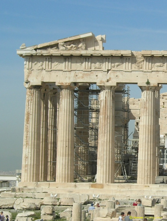 Architecture D 39 Un Temple Grec