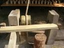 Tour à bois, an mil (détail 2)