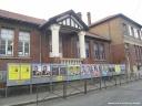 Panneaux électoraux à Rouen
