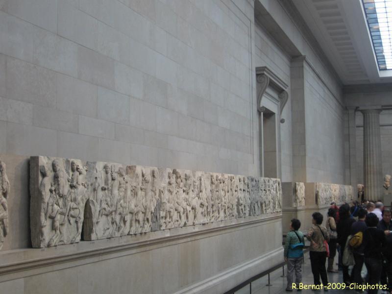 La frise des Panathénées