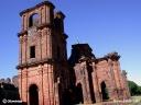 Ruines d'une réduction jésuite