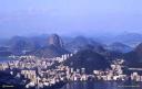 Panorama de Rio de Janiero depuis le Christ du Corcovado