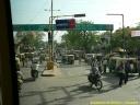 En Inde, les rickshaw ou tuk-tuk