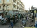 Ville d'Agra en Inde : contraste de l'habitat