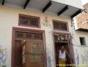 dieu Ganesh sur la façade d'une maison