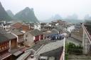 Toits de Yangshuo