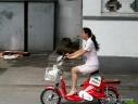 Vélo électrique à Shanghai