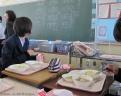 Repas au collège de Saitama
