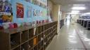pantoufles à l'école
