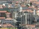 Lisbonne : le couvent des Carmes