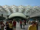 Lisbonne : la gare Oriente