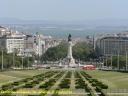 Lisbonne : place du arquis de