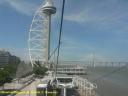 Lisbonne : la tour et le pont  Vasco de Gama