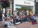 Musiciens dans Grafton Street