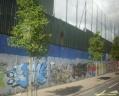 Peaceline à Belfast