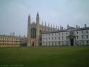 Vue intérieure du Kings College de Cambridge