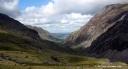 Vallée glaciaire au pied du Snowdon
