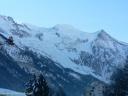le Mont Blanc et le dôme du goûter