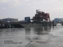 barge : centrale thermique de Cordemais