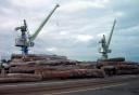 terminal à bois du port de Nantes-Saint-Nazaire