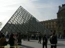 pyramide de Peï au Louvre