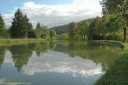 Le Canal de Bourgogne à La Bussière-sur-Ouche