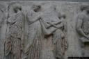 Frise des Panthénées, péplos