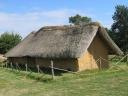 Reconstitution d'une maison néolithique