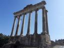 Le temple de Saturne