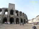 Extérieur des arènes d'Arles