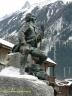 Statue de Michel-Gabriel Paccard à Chamonix