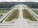 Vaux le Vicomte : vue des jardins