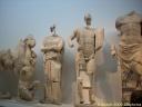 Sculptures du fronton est du temple de Zeus à Olympie