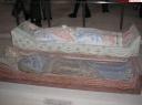 gisants d'Isabelle d'Angoulème et de Richard coeur de lion