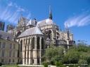chevet de la cathédrale de Reims
