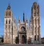 Cahédrale de Rouen : la façade