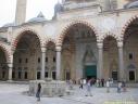 Cour de la mosquée de Selim II à Edirne