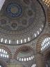 Intérieur de la coupole de la mosquée de Selim II à Edirne