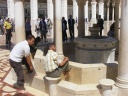 Damas - Mosquée - cour, fontaine