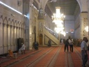 Damas - Mosquée - salle de prière, minbar