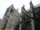 Contreforts et arcs-boutants de la basilique de Saint Denis