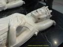 Gisants de la basilique de St Denis : gisant d'entrailles de Jeanne de Bourbon