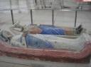 gisants de Aliénor d'Aquitaine et d'henri II Plantagenêt