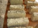Briques de terre crue et paille, détails