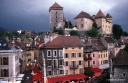 Le château d'Annecy et la vieille ville