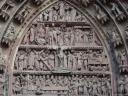 Tympan de la cathédrale de Strasbourg